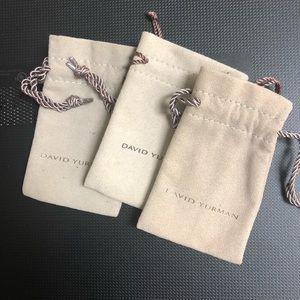 David Yurman Jewelry Pouches